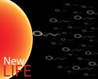 Het nieuwe leven vector illustratie