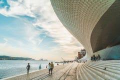 Het Nieuwe Museum van Kunst, Architectuur en Technology Museu DE Arte, Arquitetura e Tecnologia of MAAT stock foto