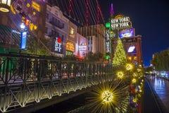 Het Nieuwe New York hotel van Las Vegas Stock Afbeelding