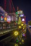 Het Nieuwe New York hotel van Las Vegas Royalty-vrije Stock Foto's