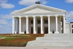 Het Nieuwe Operahuis in Astana Stock Foto's