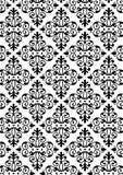 Het nieuwe Patroon van de Stijl van het Damast Royalty-vrije Stock Afbeelding