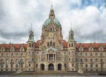 Het nieuwe Stadhuis Hanover van de Stad Royalty-vrije Stock Foto's