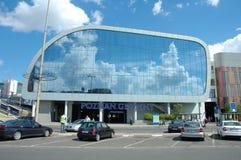 Het nieuwe station van Poznan Royalty-vrije Stock Foto