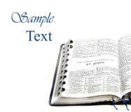 Het Nieuwe Testament St. John van de bijbel Stock Afbeelding