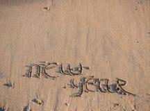 Het nieuwjaar 2014 is komend concept Stock Foto