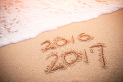 Het nieuwjaar is komend concept Royalty-vrije Stock Afbeeldingen