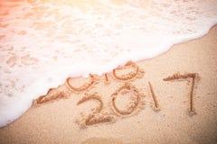 Het nieuwjaar is komend concept Royalty-vrije Stock Afbeelding