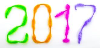 Het nieuwjaar 2017 is Komend Concept Stock Foto