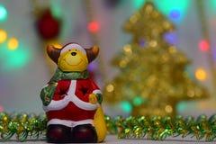 Het nieuwjaar` s sprookje komt aan elk huis Royalty-vrije Stock Afbeelding