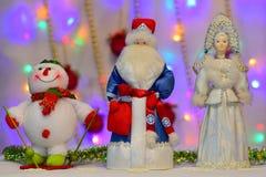 Het nieuwjaar` s sprookje komt aan elk huis Royalty-vrije Stock Foto's
