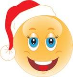 Het Nieuwjaar van de glimlach. Kerstmis. Glimlach. Royalty-vrije Stock Afbeelding