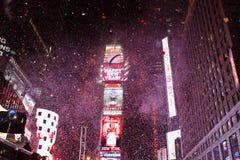 Het Nieuwjaar van het Times Square Stock Afbeeldingen