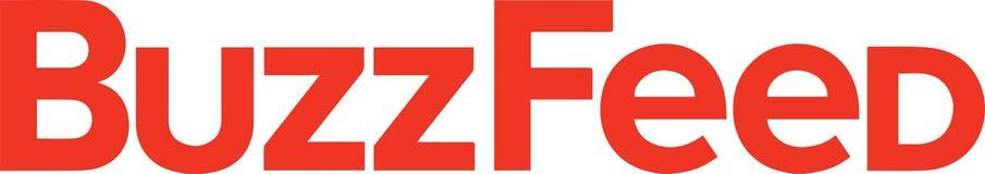 Het nieuws van het BuzzFeedembleem royalty-vrije stock afbeelding