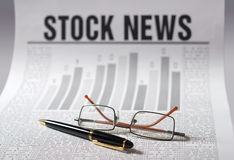 Het nieuws van de voorraad Stock Foto's
