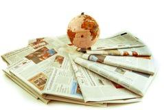 Het nieuws van de wereld Royalty-vrije Stock Foto's