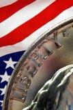 Het Nikkel van de vrijheid stock afbeelding