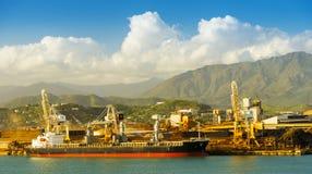 Het Nikkelmijnbouw van Nieuw-Caledonië Royalty-vrije Stock Fotografie