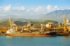 Het Nikkelmijnbouw van Nieuw-Caledonië Stock Fotografie