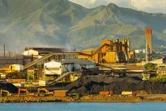 Het Nikkelmijnbouw van Nieuw-Caledonië Royalty-vrije Stock Afbeeldingen