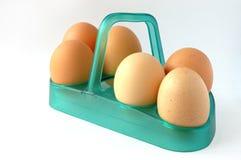 Het nog-leven met eieren? stock afbeeldingen