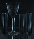 Het nog-leven met glas Stock Foto's