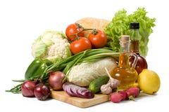 Het nog-leven met groenten. Royalty-vrije Stock Afbeelding