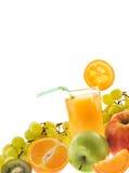 Het nog-leven met vruchten Stock Foto