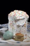 Het nog-leven over een Pasen cake Royalty-vrije Stock Foto's