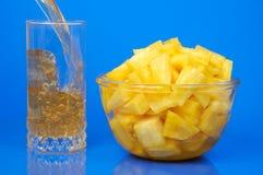Het nog-leven van de ananas royalty-vrije stock foto's
