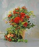 Het nog-leven van de bloem Stock Afbeeldingen
