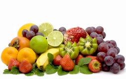 Het nog-leven van het fruit Stock Foto's