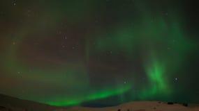 Het noordelijke licht Stock Afbeelding