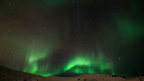 Het noordelijke licht Stock Foto's