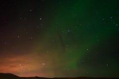 Het noordelijke licht Royalty-vrije Stock Foto's