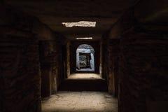 Het Noordelijke Stelae-Park van Aksum, beroemde obelisken in Axum, Ethiopi? royalty-vrije stock fotografie