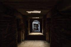 Het Noordelijke Stelae-Park van Aksum, beroemde obelisken in Axum, Ethiopi? stock foto's