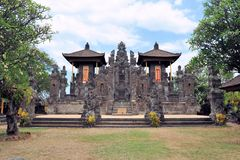Het noorden Balinese Hindoese Tempel dichtbij Singaraja, Bali stock foto
