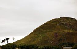 Het noorden Berwick Law - Heuvel Stock Fotografie