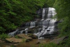 Het noorden Carolina Waterfall dichtbij Tryon en Saluda Royalty-vrije Stock Fotografie