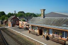 Het Noorden Devon het UK van de Willitonpost Stock Foto