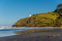 Het noorden Hoofdvuurtoren bij Vreedzame kust, die in 1898 wordt gebouwd Royalty-vrije Stock Foto's