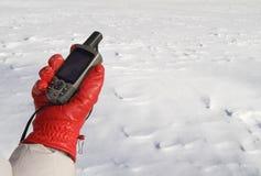 Het Noorden Pole.jpg van het onderzoek Stock Fotografie