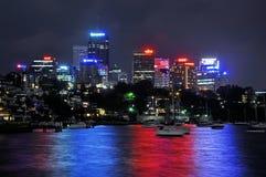 Het noorden Sydney Skyscrappers Royalty-vrije Stock Afbeelding