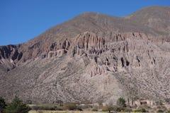 Het noorden van Argentinië/noa, jujuy salta, stock afbeelding