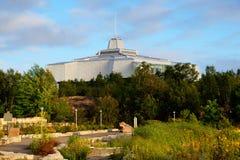 Het Noorden van het centrum van de wetenschap in Sudbury Ontario Canada royalty-vrije stock afbeeldingen