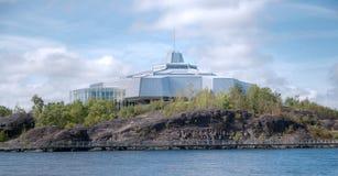 Het Noorden van het centrum van de wetenschap in Sudbury Ontario Canada Stock Afbeeldingen