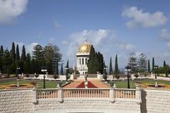 De tuinen van Bahai, Haifa, Israël Royalty-vrije Stock Fotografie