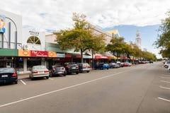Het Noorden van Palmerston van de Broadwayweg Royalty-vrije Stock Afbeeldingen