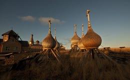 Het noorden van Rusland. royalty-vrije stock afbeeldingen
